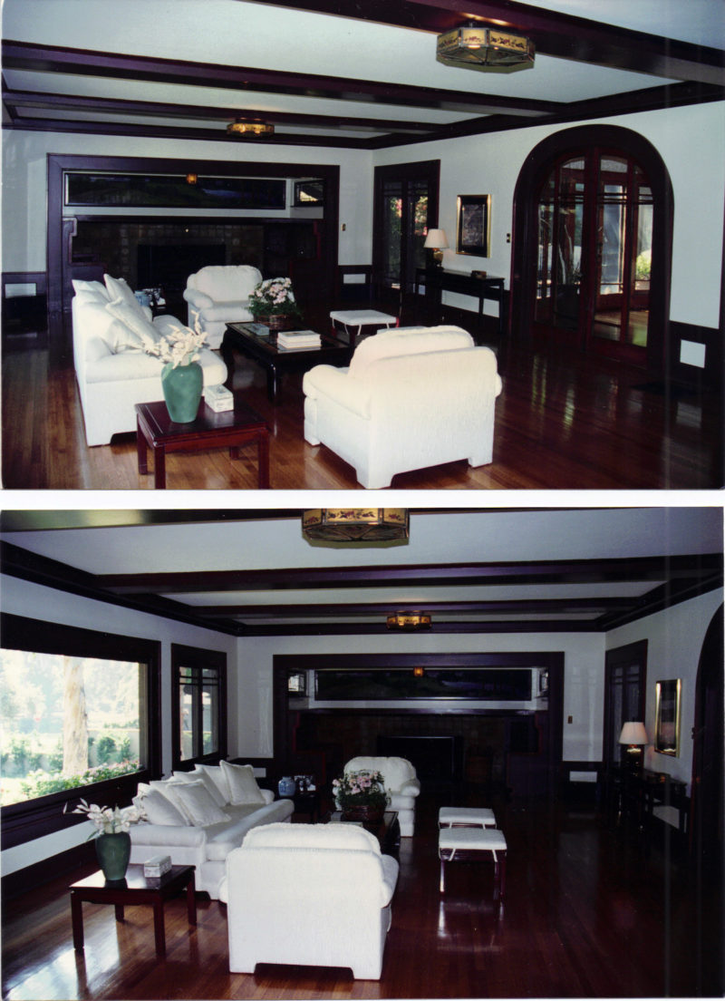 "Inside the real Craftsman house from the movie ""Monster-in-Law"""