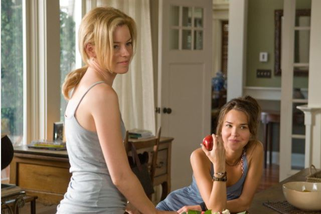 Elizabeth Banks and Arielle Kebbel The Uninvited