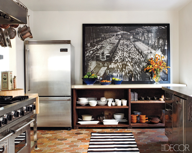 Ellen Pompeo's house in Elle Decor