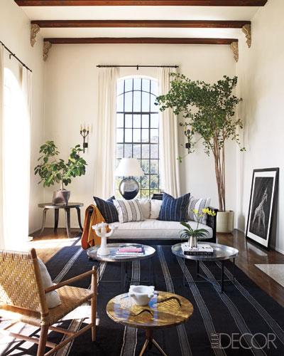 Ellen Pompeo's Hollywood home-Elle Decor