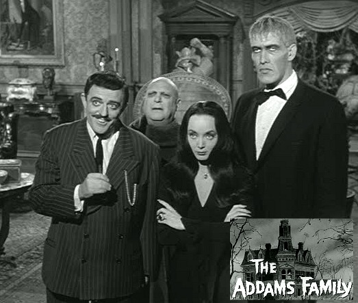 Addams Family Halloween Party.The Addams Family House Where Every Night Is Halloween
