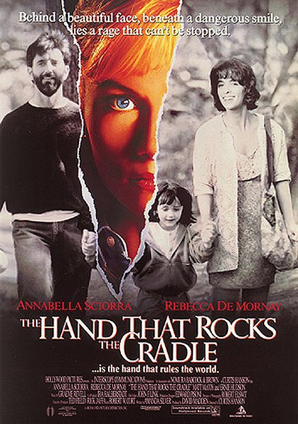 The Hand That Rocks the Cradle movie poster