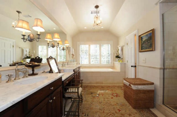 real master bathroom