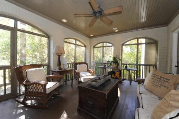 real sunroom