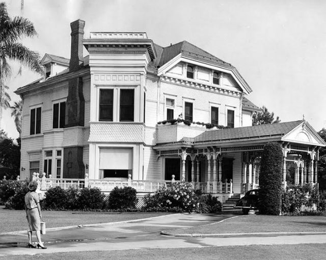 The Real Addams Family House in L.A.