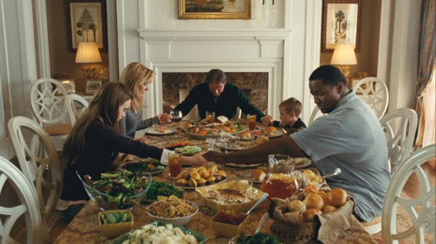 Blind Side-Tuohy House Dining Room