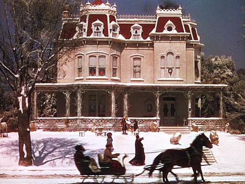 Meet Me in St. Louis house-Winter
