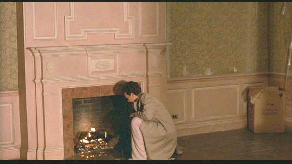 Money Pit movie bedroom fireplace