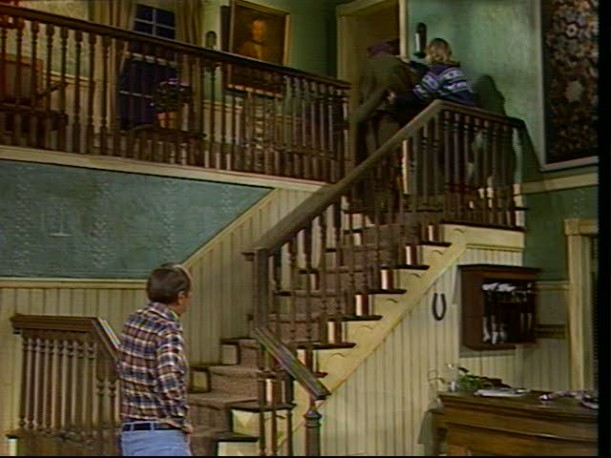 staircase at the inn