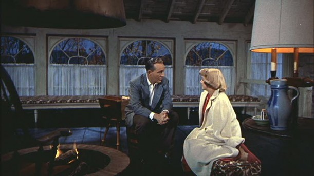 Betty and Bob by the fire