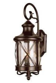Portfolio Rubbed Bronze Lantern
