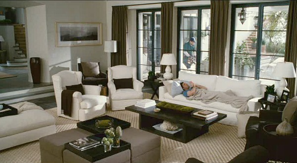 The Holiday Cameron Diaz's living room