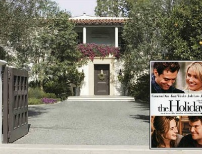 "Cameron Diaz's California-Style Home in ""The Holiday"""