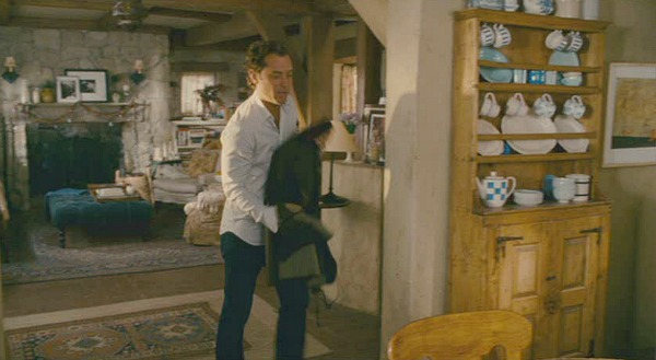 The Holiday movie cottage Jude Law