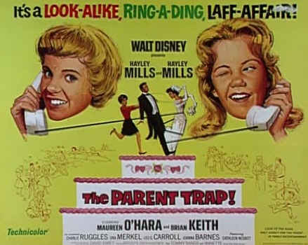 The Parent Trap 1961-movie poster