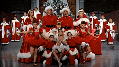 White Christmas Movie Snow