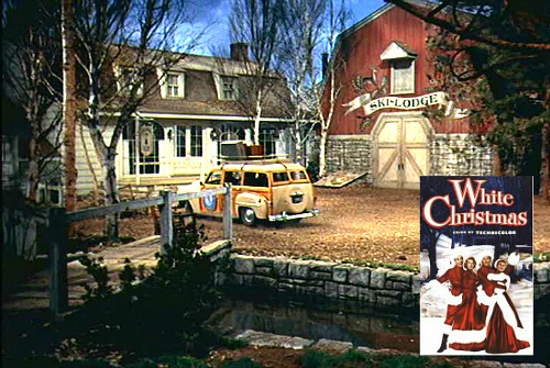 White Christmas movie Columbia Inn Pine Tree Vermont