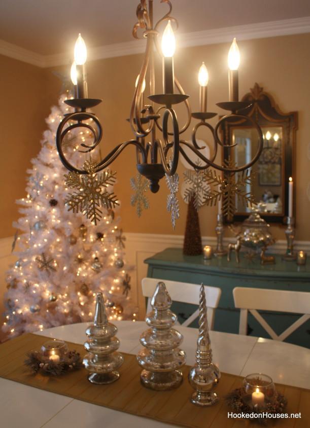 white christmas tree 5