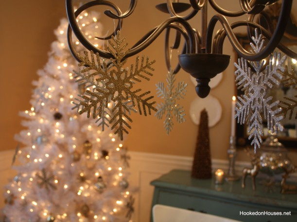 white christmas tree 6