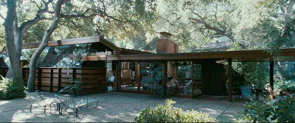 A Single Man-house in movie