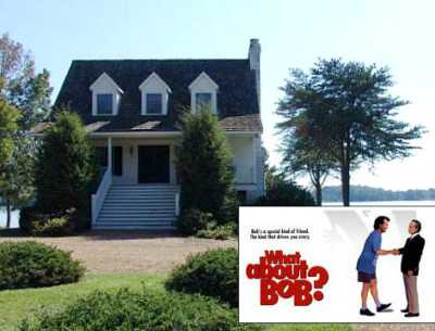 """The Lake House From """"What About Bob?"""""""