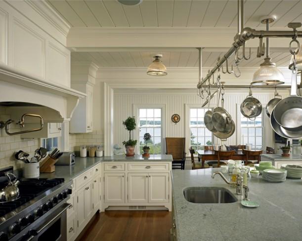 Martha's Vineyard house kitchen