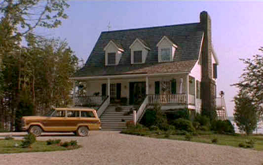 What About Bob lake house exterior