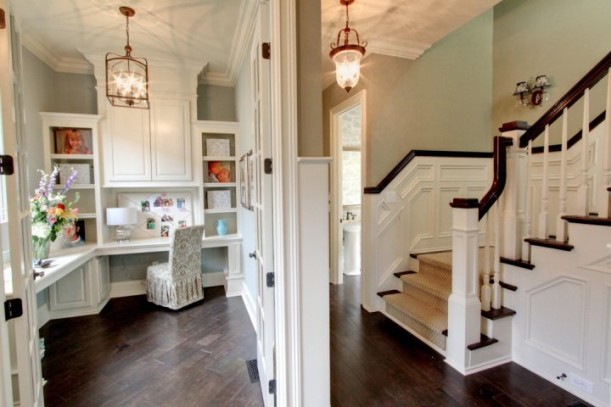 back hall home office-Stonecroft