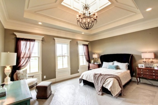 master bedroom-cupola