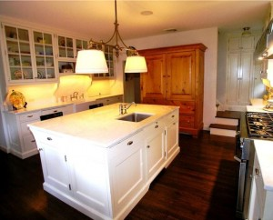 the kitchen in the movie Stepmom