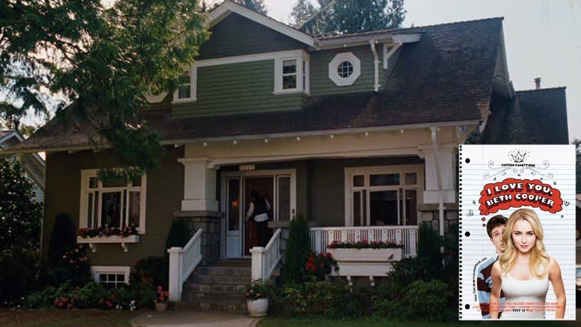 Craftsman bungalow from I Love You Beth Cooper