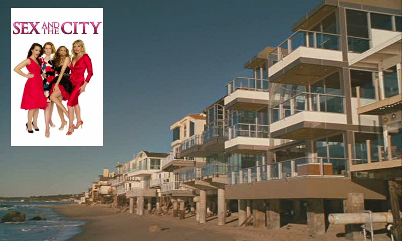 Sex and the City Samantha Jones Malibu Beach House