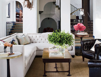 Sheryl Crow's Hollywood House in AD