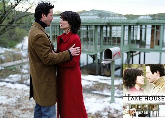 The-Lake-House-Movie still Keanu Reeves Sandra Bullock sp