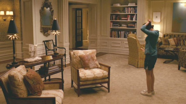 living room-Scarlett Johansson
