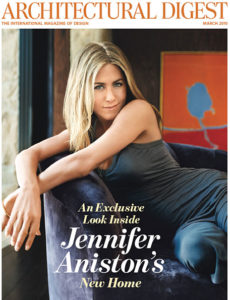 Jennifer Aniston on the Cover of Architectural Digest