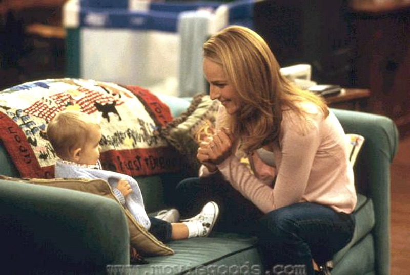 Mad About You Baby Mabel and Helen Hunt