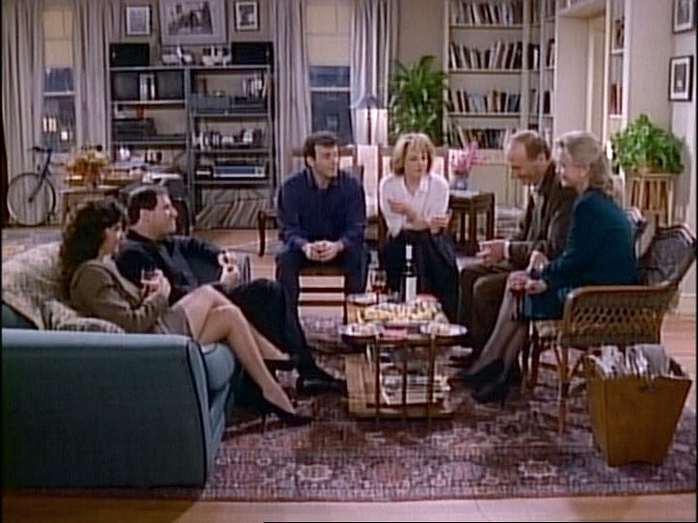 Mad About You sitcom screenshot living room
