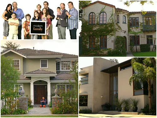Modern Family: Three Funny Families and Their Three Fab Houses