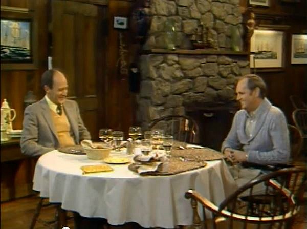 Newhart TV show dining room 3