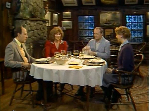 Newhart TV show dining room
