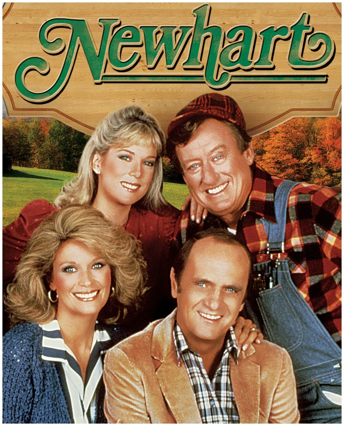 Newhart TV Show Logo and Cast