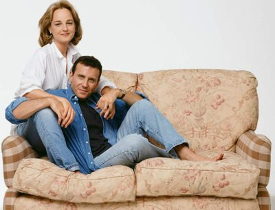 Paul and Jamie Buchman Loveseat from Mad About You