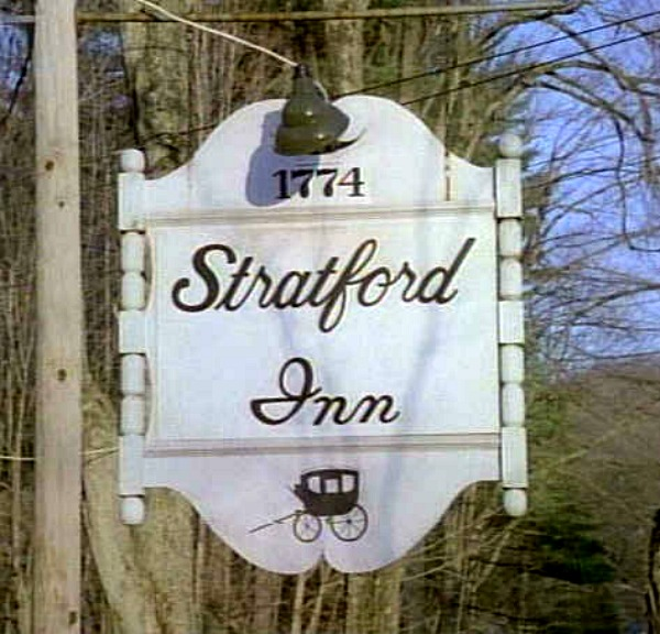 Stratford Inn sign Newhart TV show