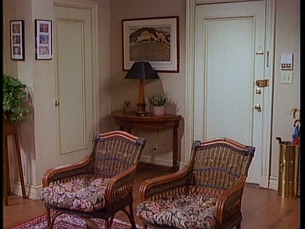 inside entry of apartment on Mad About You