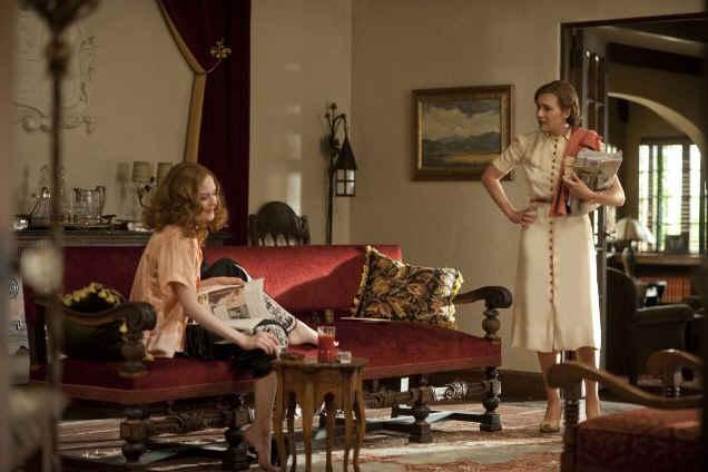 Evan Rachel Wood and Kate Winslet in Mildred Pierce remake