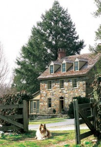Marley & Me farmhouse exterior-dog-philly mag
