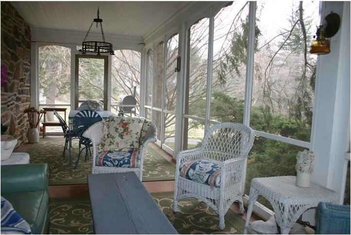 Marley And Me House Screened Porch Large Hooked On Houses