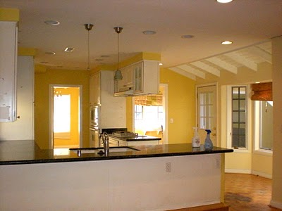 beach cottage kitchen before 3