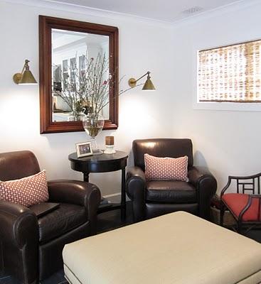 sitting area in kitchen after hooked on houses. Black Bedroom Furniture Sets. Home Design Ideas